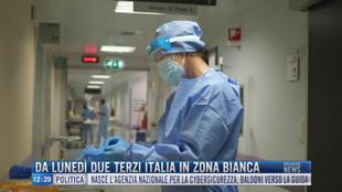 Breaking News delle 12.00 | Da lunedì due terzi Italia in zona bianca