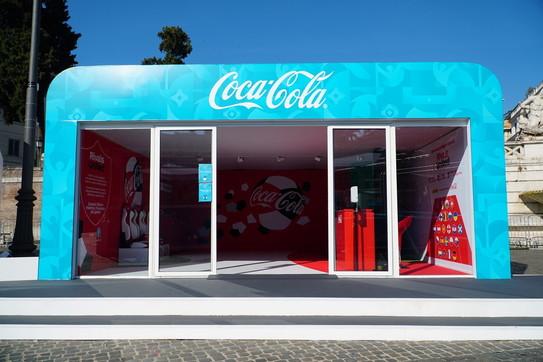 Euro 2020, allaFan Zone di Roma protagonista la CocaCola e l'ambiente