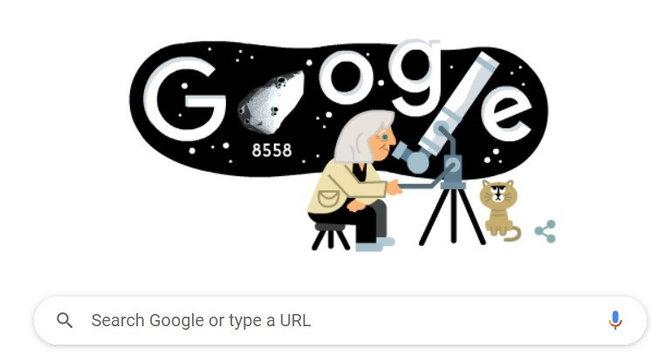 Google celebrai 99 anni di Margherita Hackcon un doodle 3D