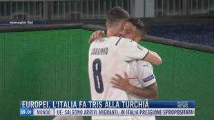 Breaking News delle 09.00 | Europei, l'Italia fa tris alla Turchia