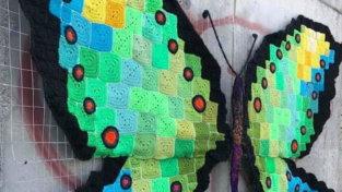 Yarn Bombing, il festival dell'uncinetto dal Molise arriva a Milano