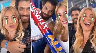 Diletta Leotta e Can Yaman allo stadio, uniti dall'amore ma divisi dal tifo