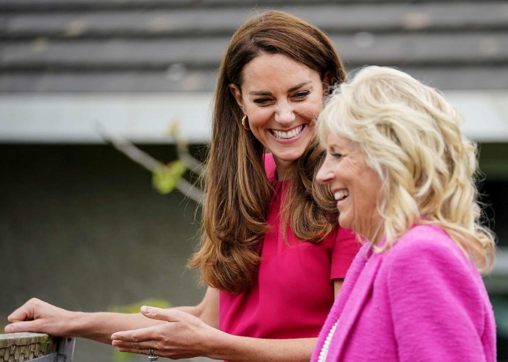 """Kate Middleton guida speciale per Jill Biden, e su Lilibet Diana dice: """"Spero di incontrarla presto"""""""