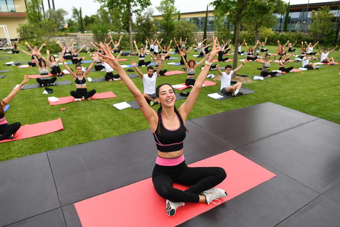 """Salute e wellness, """"Intimissimi InAction Day"""": le foto dell'evento"""