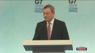 Draghi: rassicuro sui vaccini, nessun timore o incertezza