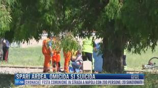 Breaking News delle 18.00 | Spari Ardea, omicida si suicida