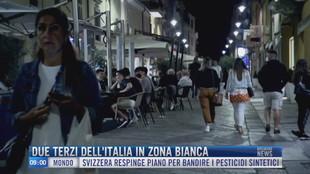 Breaking News delle 09.00 | Due terzi dell'Italia in zona bianca