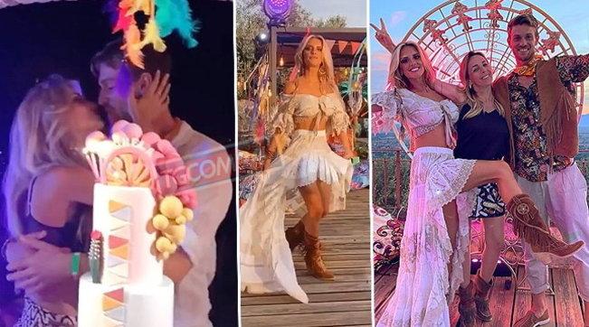 Coachella party per i 30 anni di Michela Persico