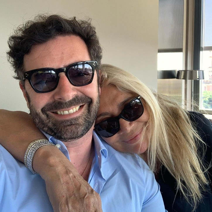 Mara Venier a pranzo con Alberto Matano