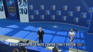 Breaking News delle 21.00 | Biden compatta la Nato contro Cina e Russia