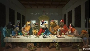 "L'Ultima cena in versione ""animalesca"", così la Cina deride i leader del G7"