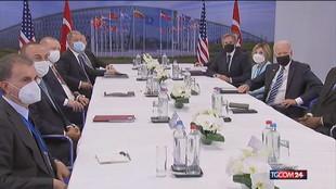"""Nato, Biden """"sferza"""" Cina e Russia"""