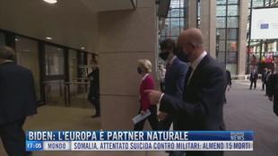 Breaking News delle 17.00 | Biden: L'Europa è partner naturale