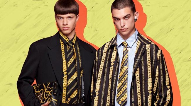 Moda, Versace Resort 2022: tutti i look della collezione