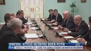 Breaking News delle 12.00 | Ginevra atteso incontro Biden-Putin