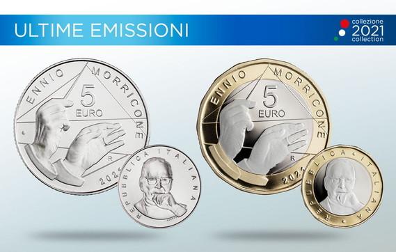 Ennio Morricone, la Zecca dello Stato lo celebra con una moneta commemorativa da cinque euro