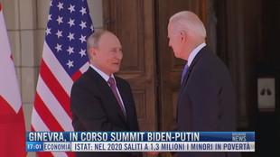 Breaking News delle 17.00 | Ginevra, in corso summit Biden-Putin