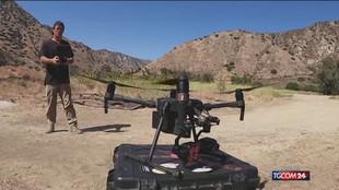 Disastri, un drone per salvare gli animali