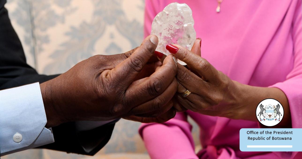 Ecco il terzo diamante più grande del mondo: è stato trovato in Botswana