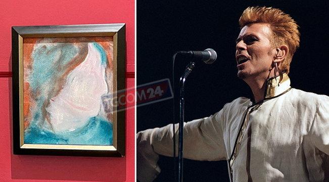 Raro ritratto dipinto da David Bowie all'asta per oltre 17mila dollari: era stato comprato per 5 dollari tra oggetti di scarto