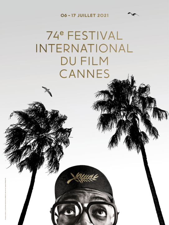 Cannes 74, il poster ufficiale è un omaggio aSpike Lee: il regista tra le palme della Croisette