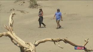 Usa, caldo record: 54 gradi in California