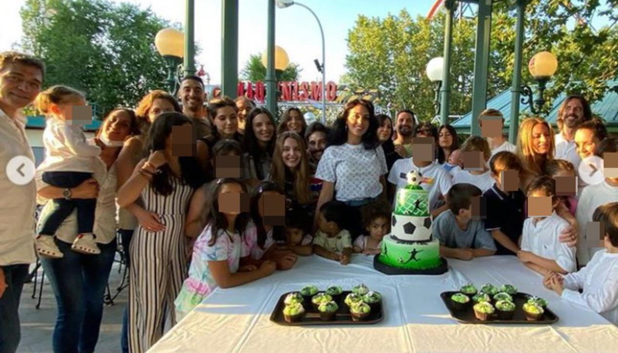 Cristiano Ronaldo Jr compie gli anni, guarda la festa al parco giochi