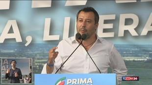 """Salvini: """"Basta gelosie, il centrodestra si unisca"""""""