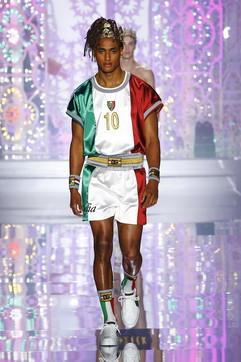 Milano Fashion Week 2021, Dolce & Gabbana: i look della sfilata uomo