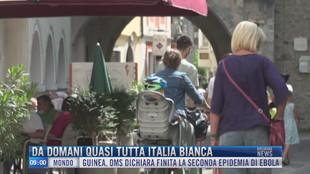 Breaking News delle 09.00 | Da domani quasi tutta Italia bianca