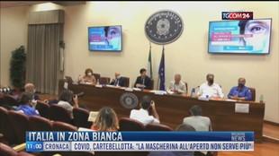 Breaking News delle 11.00   Italia in zona bianca