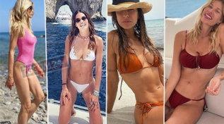 Le vip in vacanza: guarda i nuovi bikini di Canalis, Marcuzzi, Santarelli…