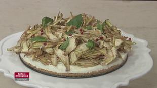 Cheesecake ai carciofi, torta salata cavoli e pancetta e torta salata zucchine e carote