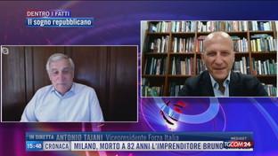 """Tajani: """"Il progetto di Berlusconi per un centrodestra unito"""""""