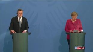 Vertice Draghi-Merkel: sul tavolo migranti, Covid e Ue