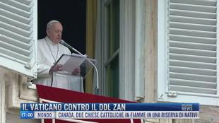 Breaking News delle 17.00 | Il Vaticano contro il Ddl Zan