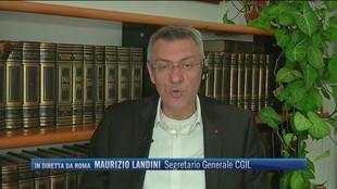 """Fine blocco dei licenziamenti, Maurizio Landini (Segretario Generale CGIL): """"Manifestiamo per dire al Governo che è possibile evitare questa bomba sociale"""""""