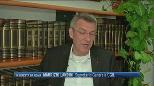"""In attesa di una password per lo sblocco di 700 milioni di euro per il turismo, Maurizio Landini (CGIL): """"Ci battiamo per un nuovo piano del turismo e dei trasporti"""""""