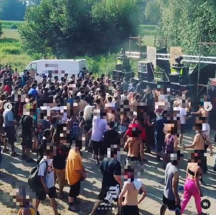 Lodigiano, 700 persone a un rave senza distanziamento né mascherine