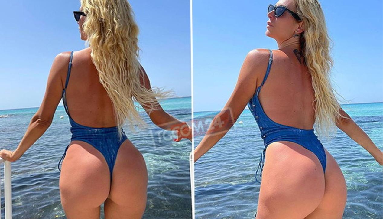Paola Caruso a Gallipoli, mamma che bomba sexy!