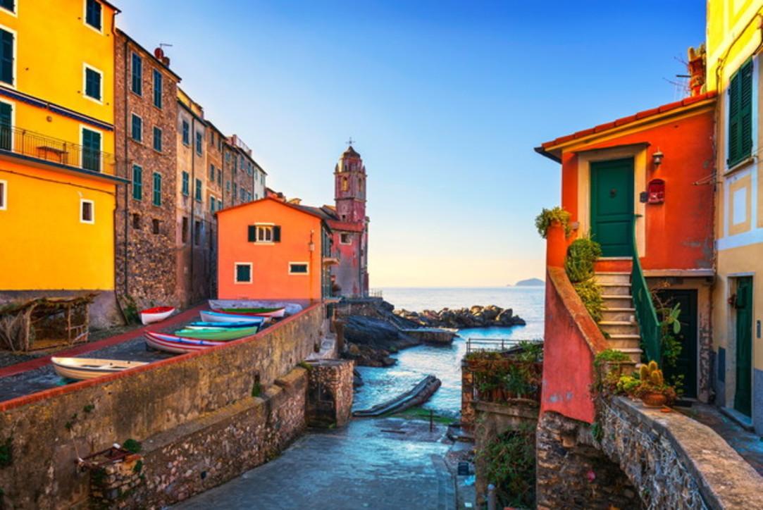 Italia bella: città e borghi all'insegna del colore