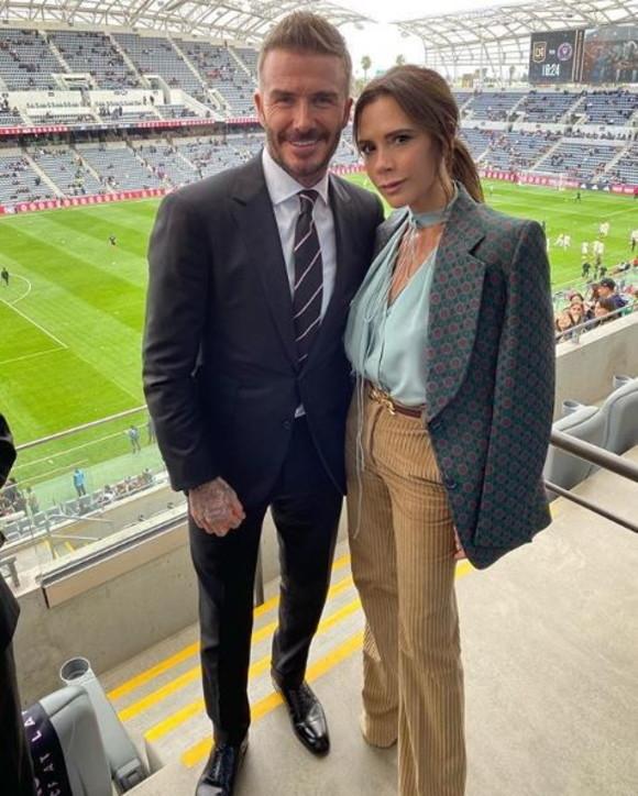 David e Victoria Beckham, la favola d'amore