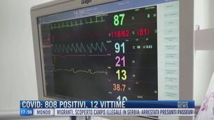 Breaking News delle 18.00 | Covid: 808 positivi, 12 vittime