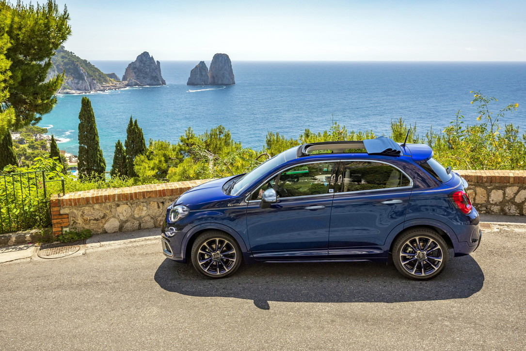 Fiat 500X Yachting e 500 Yachting