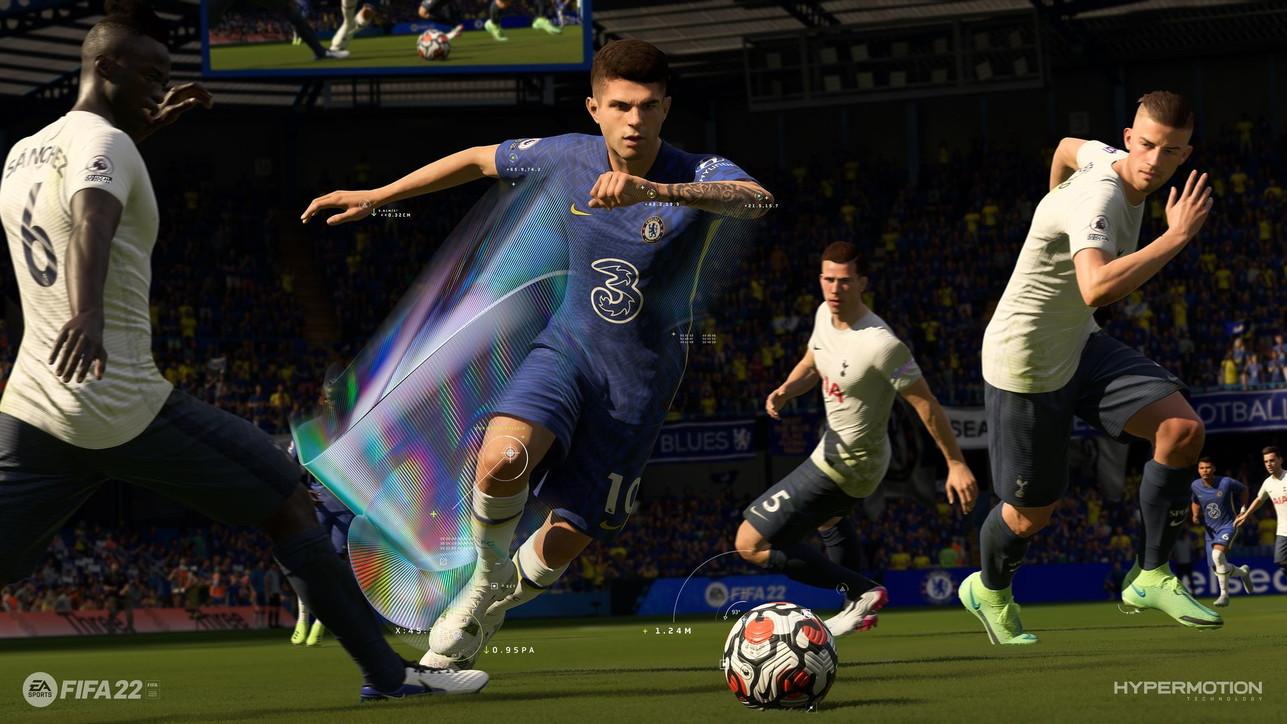 FIFA 22, le prime immagini del nuovo simulatore calcistico di Electronic Arts
