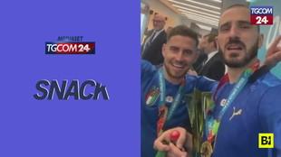 """""""It's coming Rome"""": i festeggiamenti degli Azzurri campioni d'Europa"""
