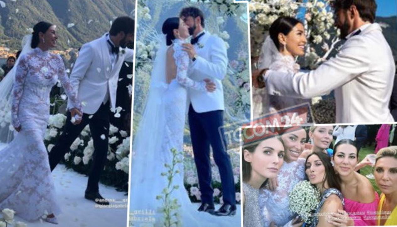Giorgia Gabriele ha detto sì, guarda l'album delle nozze