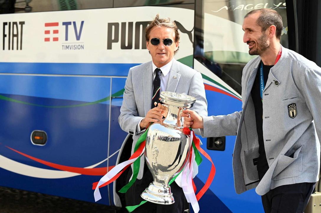 Euro 2020: la Nazionale porta la coppa al Quirinale