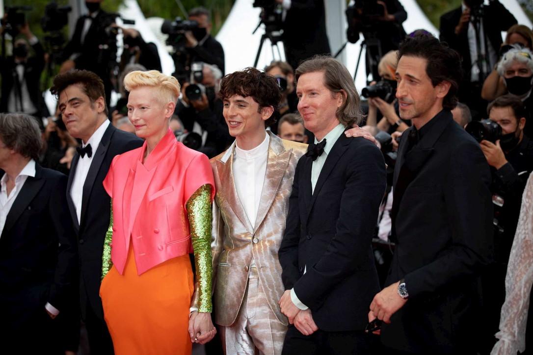 """Da Chalamet a Brody, McDormande Swinton, guarda il cast stellare di """"The French Dispatch"""""""