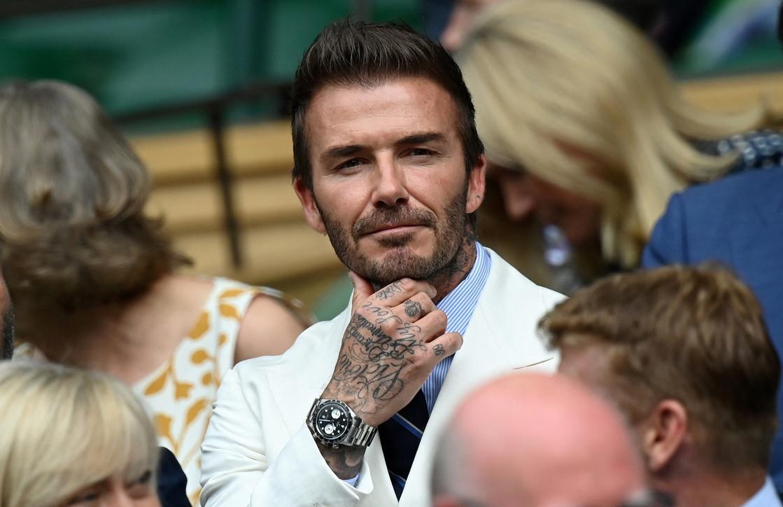 Moda uomo, stili da copiare: David Beckham e la giacca bianca